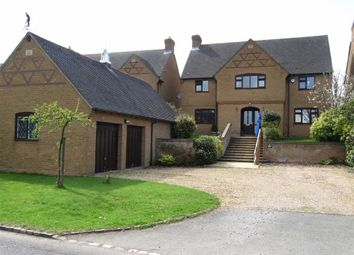 Thumbnail 5 bed detached house for sale in Guilsborough Road, Ravensthorpe, Northampton