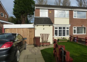 Thumbnail 3 bed semi-detached house for sale in Windermere Close, Earl Shilton, Leicester