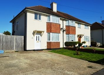 Thumbnail 3 bed property to rent in Redan Road, Aldershot
