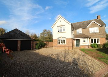 Thumbnail 5 bed detached house to rent in Beckett Close, Westley, Bury St. Edmunds
