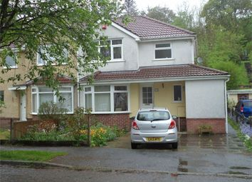 Thumbnail 3 bed semi-detached house for sale in Cambridge Gardens, Beaufort, Ebbw Vale, Blaenau Gwent