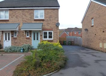 Thumbnail 2 bed semi-detached house to rent in Waun Draw, Caerphilly
