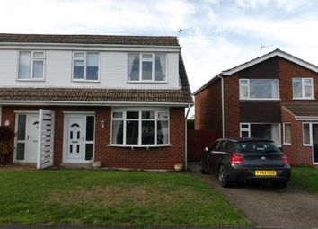 Thumbnail 3 bed semi-detached house for sale in Conway Drive, Shepshed, Loughborough, Leicestershire