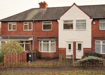 Thumbnail 3 bedroom terraced house for sale in Round Road, Erdington, Birmingham
