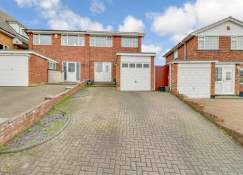 Thumbnail 3 bed semi-detached house for sale in Langford Crescent, Benfleet
