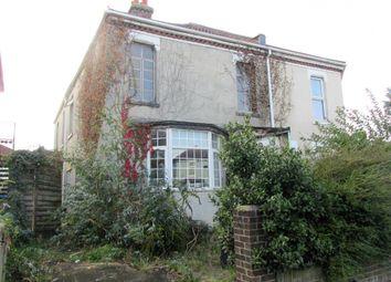 Thumbnail 3 bed semi-detached house for sale in Brockhurst Road, Gosport