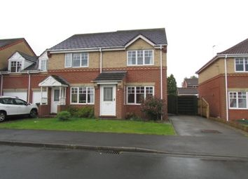 Thumbnail 2 bedroom semi-detached house to rent in Hudson Close, Malton