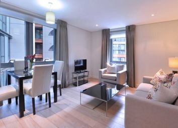 Thumbnail 1 bed flat to rent in Merchant Square, London