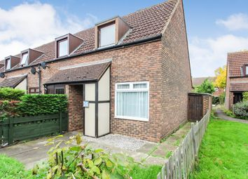 Thumbnail 1 bed end terrace house for sale in Glebelands, West Molesey