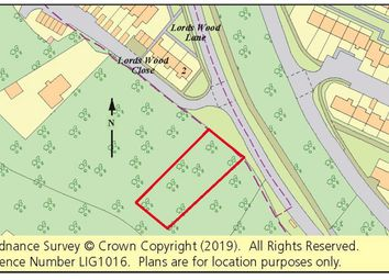Thumbnail Land for sale in Woodland, Lordswood Close, Lordswood, Chatham, Kent