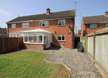 Thumbnail 3 bed semi-detached house for sale in Waterside, Hereford