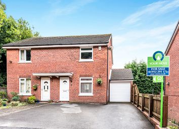 Thumbnail 3 bed semi-detached house for sale in Beedles Close, Telford