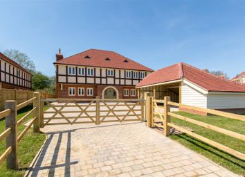 Thumbnail 4 bed detached house for sale in Station Road, Hellingly, Hailsham
