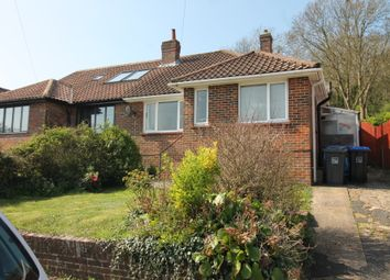 Thumbnail 3 bed semi-detached bungalow for sale in Parham Road, Findon Valley