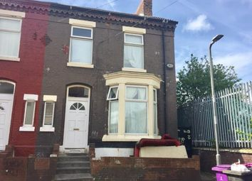 Thumbnail 3 bedroom end terrace house for sale in St. Andrew Road, Anfield, Liverpool