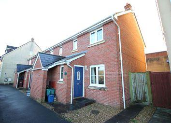 Thumbnail 2 bed end terrace house for sale in Oakfields, Tiverton