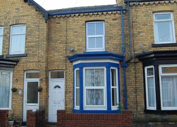 Thumbnail 2 bed terraced house to rent in Wykeham Street, Scarborough