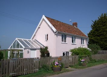 Thumbnail 3 bedroom detached house for sale in Rendham Road, Peasenhall, Saxmundham