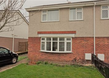 Thumbnail 3 bed semi-detached house for sale in Maesglas, Gorseinon