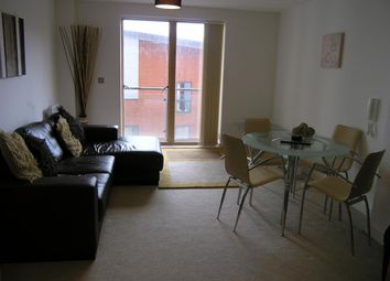 Thumbnail 1 bed flat to rent in Barton Place, Hornbeam Way, Manchester