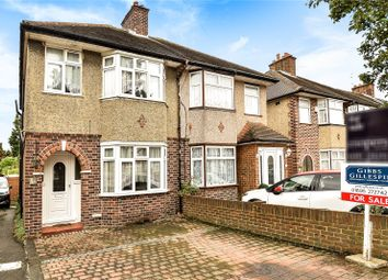 Thumbnail 3 bed semi-detached house for sale in Hayes End Drive, Hayes, Middlesex