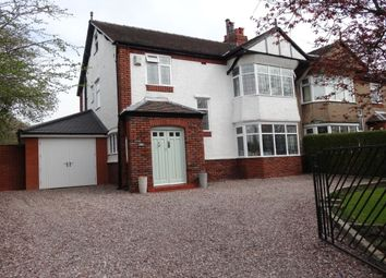 Thumbnail 4 bed semi-detached house for sale in Garstang Road, Fulwood, Preston