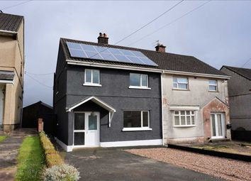 Thumbnail 3 bed semi-detached house for sale in Heol Y Deri, Cwmgwili, Llanelli