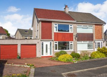 Thumbnail 3 bed semi-detached house for sale in Dunster Gardens, Glasgow