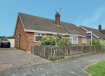 Thumbnail 2 bed semi-detached bungalow for sale in St. Martins Road, Thorngumbald, Hull