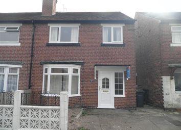 Thumbnail 3 bedroom semi-detached house to rent in Baker Street, Alvaston, Derby