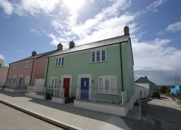 Thumbnail 2 bed semi-detached house to rent in Stret Goryan, Nansledan, Newquay
