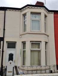 Thumbnail 3 bedroom terraced house to rent in Warbreck Avenue, Walton, Liverpool