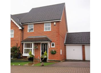 Thumbnail 4 bed semi-detached house for sale in Lucern Close, West Cheshunt