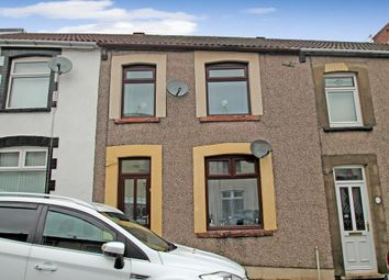 Thumbnail 3 bed terraced house for sale in West Street, Bargoed, Caerphilly Borough