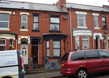 Thumbnail 3 bed terraced house to rent in Humber Ave, Coventry