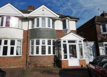 Thumbnail 3 bedroom property to rent in Durley Dean Road, Birmingham