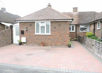 Thumbnail 2 bed semi-detached bungalow for sale in Rectory Close, Byfleet, Surrey