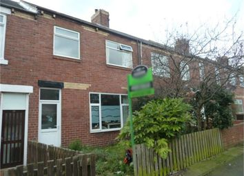 Thumbnail 2 bed flat for sale in Beatrice Street, Ashington, Northumberland