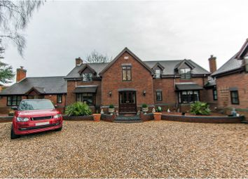 Thumbnail 6 bed detached house for sale in Aqueduct Road, Coalville