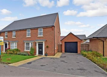 Thumbnail 3 bed semi-detached house for sale in Grove Road, Preston, Canterbury, Kent