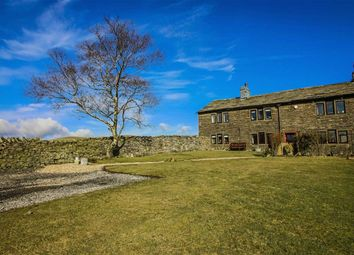Thumbnail 4 bed farmhouse for sale in Tunstead, Stacksteads, Lancashire