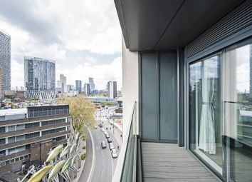 Thumbnail 1 bed flat to rent in Legacy Tower, 88 Great Eastern Road, London