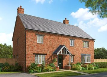 Thumbnail 4 bedroom detached house for sale in St George's Fields, Wootton, Northampton
