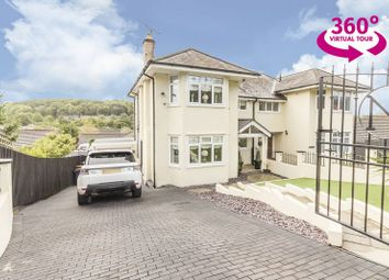 Thumbnail 4 bed semi-detached house for sale in Chepstow Road, Newport