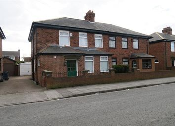 Thumbnail 3 bed semi-detached house to rent in South Drive, Hebburn