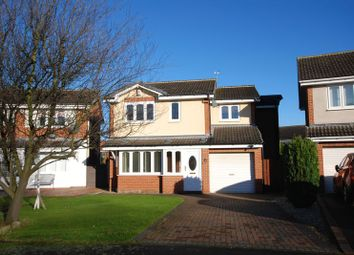 Thumbnail 4 bed detached house for sale in Chollerford Close, Gosforth, Newcastle Upon Tyne