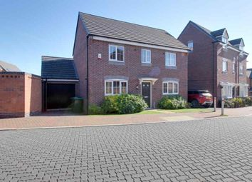 Thumbnail 3 bed detached house for sale in Henfrey Drive, Annesley, Nottingham