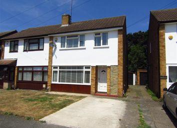 Thumbnail 3 bed semi-detached house for sale in Alderbury Road West, Slough