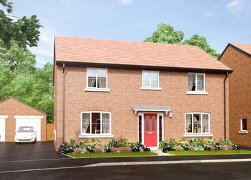 "Thumbnail 4 bed detached house for sale in ""The Hanley"" at Main Road, Kempsey, Worcester"