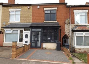 Thumbnail 4 bed terraced house for sale in Asquith Road, Ward End, Birmingham, West Midlands